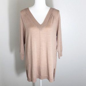 Anthropologie Moth wool sweater